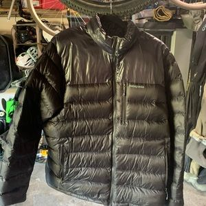 Patagonia Fitz Roy Down Jacket XXL, Black